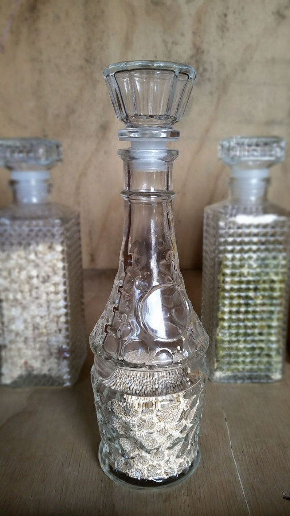 Upcycle Glass Decanters for Food Storage