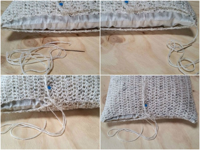 DIY PROJECT_Crochet Cushion Cover
