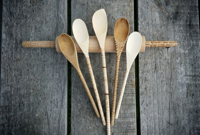 DIY GIFT IDEA | Decorated Wooden Spoons