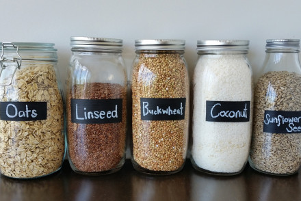 DIY Project | Painted Chalk Labels on Glass Jars