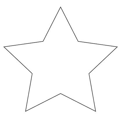 star- template