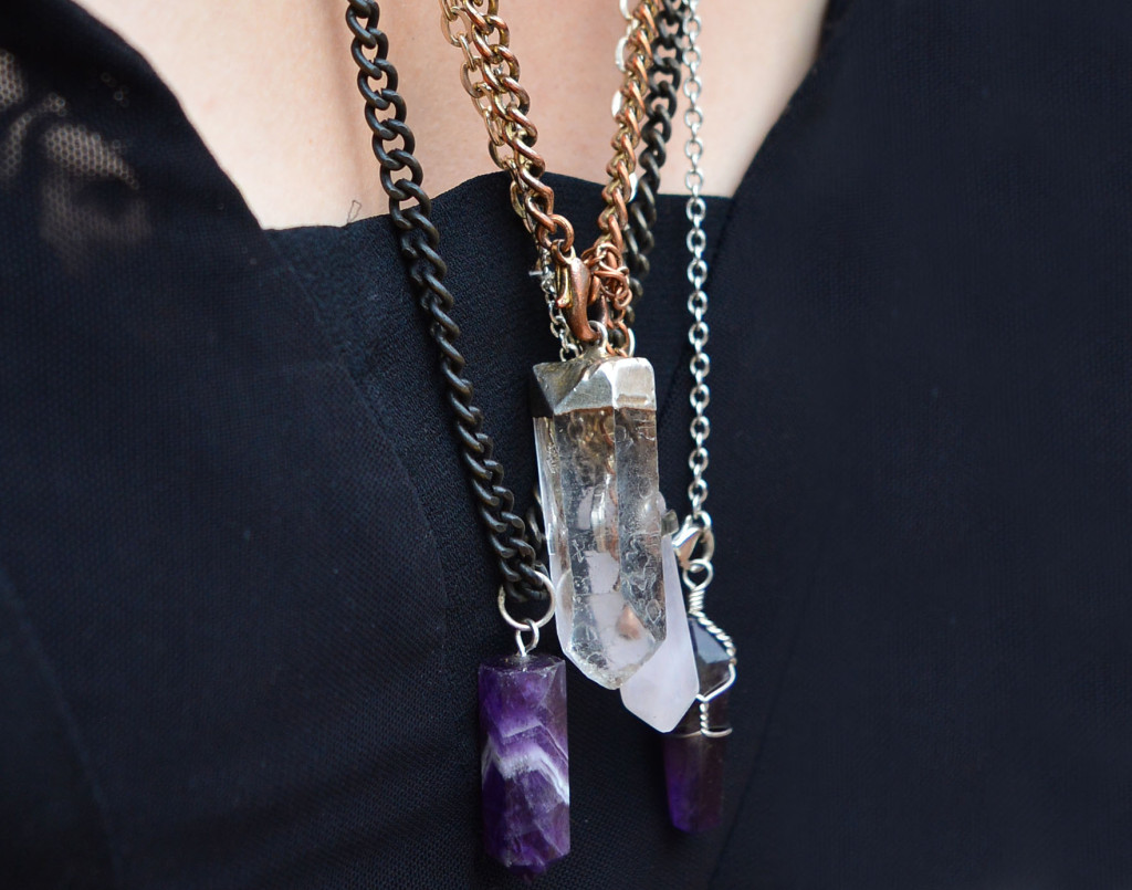 DIY Crystal Necklace