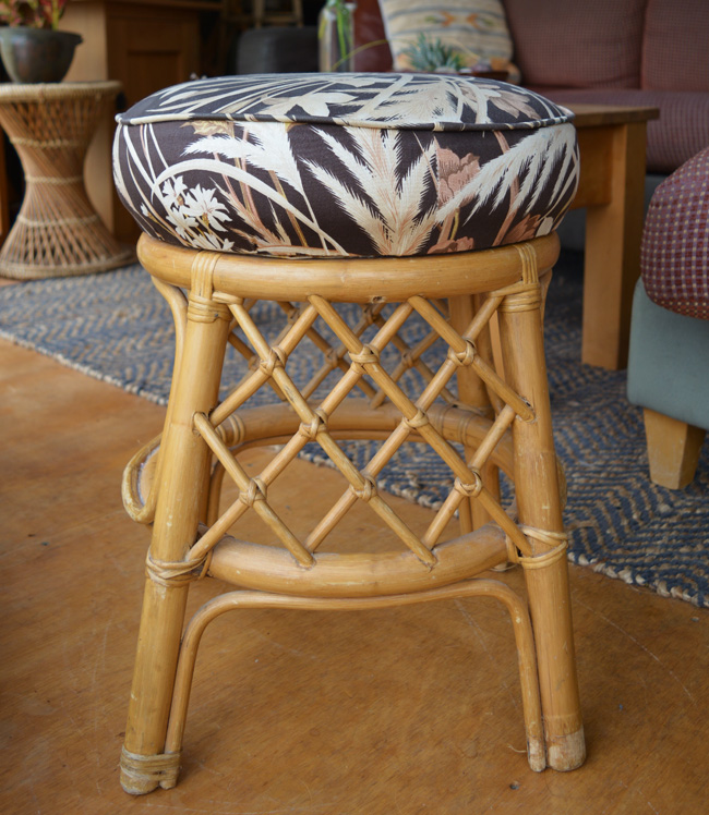 How to Reupholster a Stool