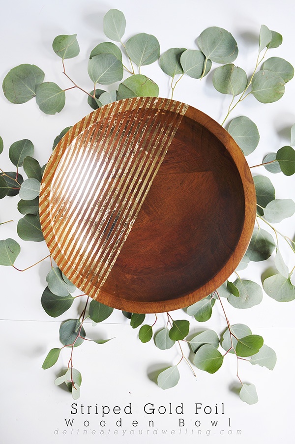 Striped-Gold-Foil-Bowl